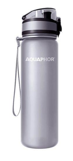 купить Бутылочка для воды Aquaphor Серая в Кишинёве