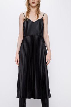 Платье ZARA Чёрный 2878/405/800