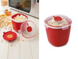 Recipient pentru gatirea pop-corn in cuptor cu microunde Snips 1.5l
