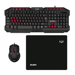 Gaming Keyboard & Mouse & Mouse Pad SVEN GS-9200