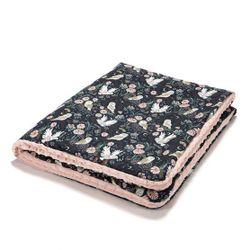 Одеялко La Millou Magic Owl / Powder Pink 100x80 см
