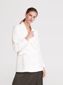 Пиджак RESERVED Белый xm322-00x