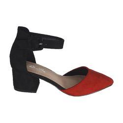 Pantofi Dame cu toc (36-40) rosu /8
