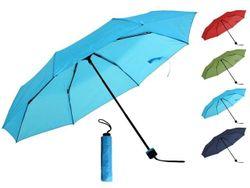 Зонт складной D104cm, одноцветный, 6цветов