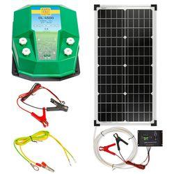 Aparat gard electric DL 4500, 4,5 Joule, cu sistem solar 30 W