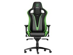 Gaming Chair Noble Epic NBL-PU-MSE-001 Mousesport Edition, max load up to 120kg / height 165-180cm