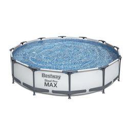 Pool Steel Pro Max 366x76cm, 6473L, cadru metalic