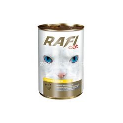 Rafi bucati in sos cu pui 415 gr