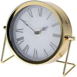 купить Часы Promstore 42651 de masa Clasic 18X16X7cm, metal, auriu в Кишинёве