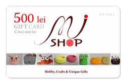 Card cadou / 500 lei