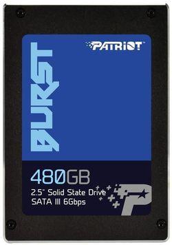 """купить Жесткий диск SSD Patriot Burst SSD 480GB SATA3 2.5"""" в Кишинёве"""