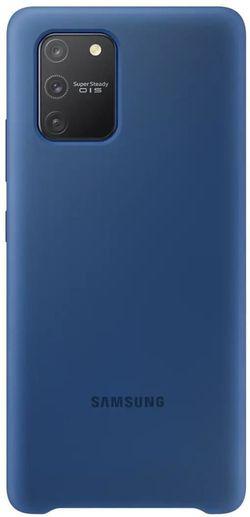cumpără Husă telefon Samsung EF-PG770 Silicone Cover Blue în Chișinău