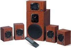 купить Колонки мультимедийные Genius SW-HF5.1 4800, Wood в Кишинёве