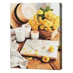 Carte de flori, 40х50 cm, pictură pe numere  BS51336