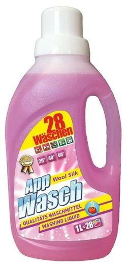 AppWasch - Gel de rufe haine delicate - WOOL & SILK, 1L