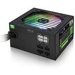 Блок питания ATX 700W GAMEMAX VP-700-RGB-M, 80+ Bronze, Active PFC, 120-мм вентилятор RGB, полумодульный
