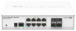 Switch MikroTik CRS112-8G-4S-IN