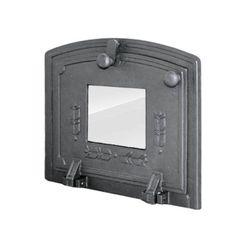 Дверца чугунная для духовки со стеклянной панелью