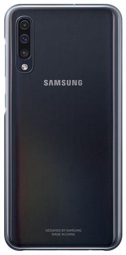 cumpără Husă pentru smartphone Samsung EF-AA505 Gradation Cover A50 Black în Chișinău