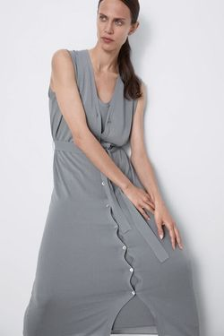 Платье ZARA Серый 1509/107/819