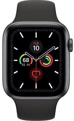 купить Смарт часы Apple Watch Series 5 GPS, 44mm Space Gray Aluminium Case MWVF2 в Кишинёве