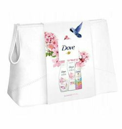 Cadou DOVE WOMEN GLOWING RITUAL (Gel de Dus 250ml + Body Lotion 250ml + Deo 150ml) + Geanta gratis