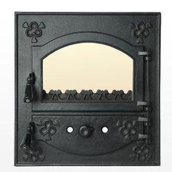 Дверца чугунная со стеклом Weekend - Romane