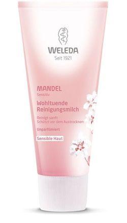 Миндальное молочко для снятия макияжа для чувствительной кожи Weleda 75 мл
