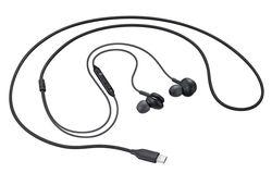 купить Наушники с микрофоном Samsung EO-IC100 Type-C Earphones Black в Кишинёве