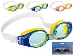 Очки для плавания детские блистер, 19.5X12.5X12.5cm, 3 цвета