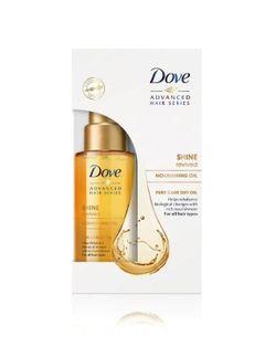 Масло для сухих волос Dove Pure Dry Oil, 50 мл