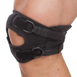Бандаж для фиксации колена (нейлон, черный, эластичный) Mute 9082 (3937)