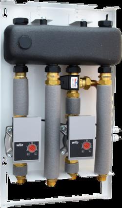 MIX-BOX 2 (Pompă  WILO Yonos Para RS 15/6  Clasa A)