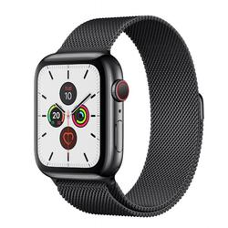 Apple Watch 5 44mm/Space Black Stainless Steal, MWWL2 GPS + LTE