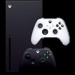 Microsoft Xbox Series X + Xbox Series Controller White