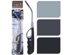 Зажигалка для плиты с гибким соплом 28.5cm, пластик, 3 цвета
