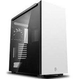 Корпус ATX Deepcool GamerStorm MACUBE 550, без блока питания, 1x120 мм, пылевой фильтр, панель Magn.TG, USB3.0, белый