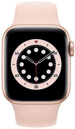 cumpără Ceas inteligent Apple Apple Watch Series 6 40mm Gold/Pink Sand Sport Band (MG123) în Chișinău