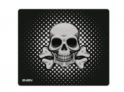 Коврик для игровой мыши SVEN GF1M, 320 x 270 x 3 мм, тканевая поверхность для скорости, прорезиненное основание, изображение