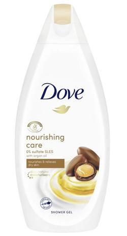 Гель для душа Dove Nourishing Care and Oil, 250 мл