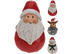 Сувенир Дед Мороз, олень, снеговик