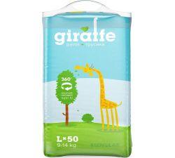 Подгузники-трусики Lovular Giraffe L (9-14 kg) 50 шт