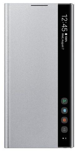 купить Чехол для моб.устройства Samsung EF-ZN970 Clear View Cover Silver в Кишинёве