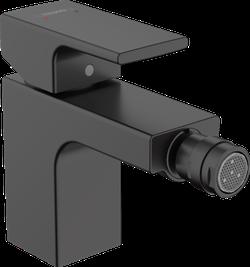 Vernis Shape Baterie pentru bideu, cu ventil pop-up, negru mat