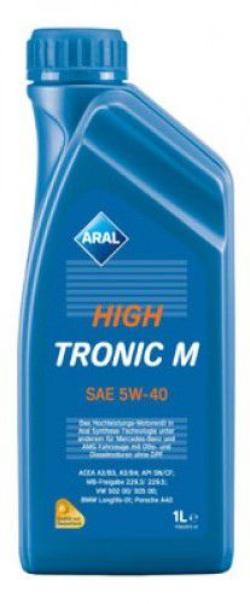 Моторное масло Aral HighTronic 5W-40 1L