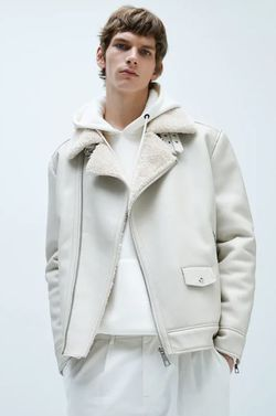 Куртка ZARA Светло-серый zara 0706/412/251
