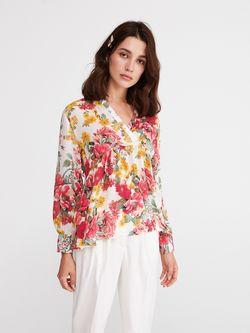 Блуза RESERVED Цветочный принт xt114-mlc