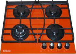 cumpără Plită încorporabilă pe gaz Backer HC-435W Orange în Chișinău