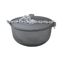 Казан чугунный (10 л) с цепью