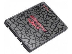 2,5-дюймовый твердотельный накопитель SATA, 128 ГБ, Apacer «AS350X» [R / W: 560/540 МБ / с, 38/75 К IOPS, 3D-NAND TLC], розничная торговля